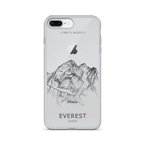 Everest iPhone Case-phone case-Stay Boundless-iPhone 7 Plus/8 Plus-Stay Boundless