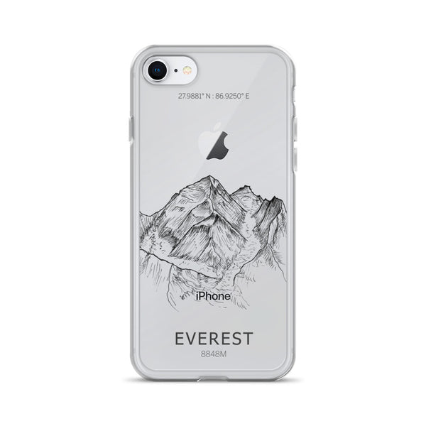 Everest iPhone Case-phone case-Stay Boundless-iPhone 7/8-Stay Boundless