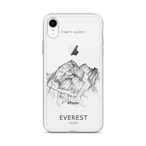 Everest iPhone Case-phone case-Stay Boundless-iPhone XR-Stay Boundless