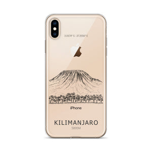 Kilimanjaro iPhone Case-Stay Boundless-iPhone XS Max-Stay Boundless