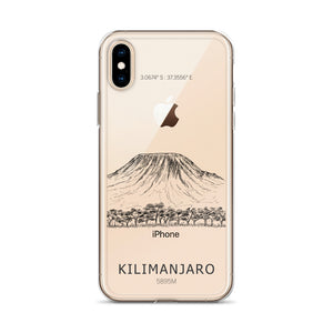 Kilimanjaro iPhone Case-Stay Boundless-iPhone X/XS-Stay Boundless