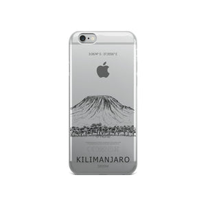 Kilimanjaro iPhone Case-Stay Boundless-iPhone 6/6s-Stay Boundless