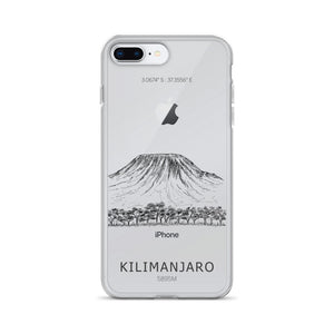 Kilimanjaro iPhone Case-Stay Boundless-iPhone 7 Plus/8 Plus-Stay Boundless