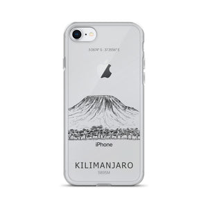 Kilimanjaro iPhone Case-Stay Boundless-iPhone 7/8-Stay Boundless