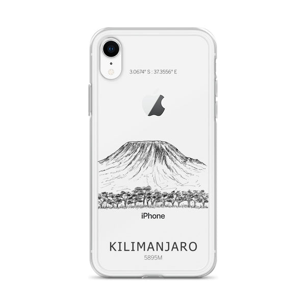 Kilimanjaro iPhone Case-Stay Boundless-iPhone XR-Stay Boundless