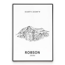 Load image into Gallery viewer, Mount Robson Poster Wall Art