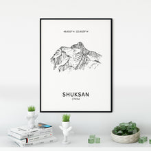 Load image into Gallery viewer, Mount Shuksan Poster Wall Art