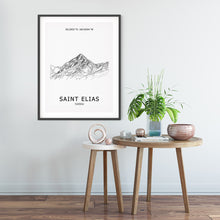 Load image into Gallery viewer, Mount Saint Elias Poster Wall Art