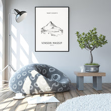 Load image into Gallery viewer, Vinson Massif Seven Summits Poster
