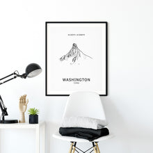 Load image into Gallery viewer, Mount Washington Oregon Poster Wall Art