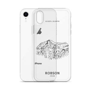 Mt Robson iPhone Case