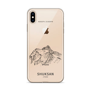 Mount Shuksan iPhone Case