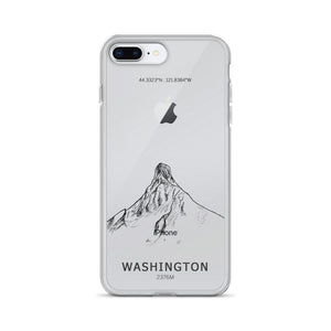 Mount Washington Oregon iPhone Case