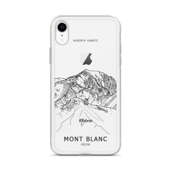 Mont Blanc - iPhone Case