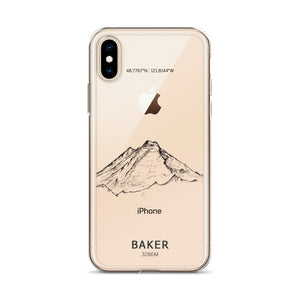 Mount Baker iPhone Case