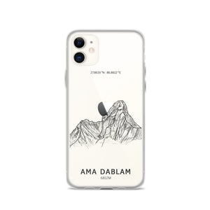 Ama Dablam  Mountain iPhone Case