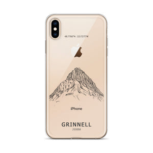 Mount Grinnell iPhone Case