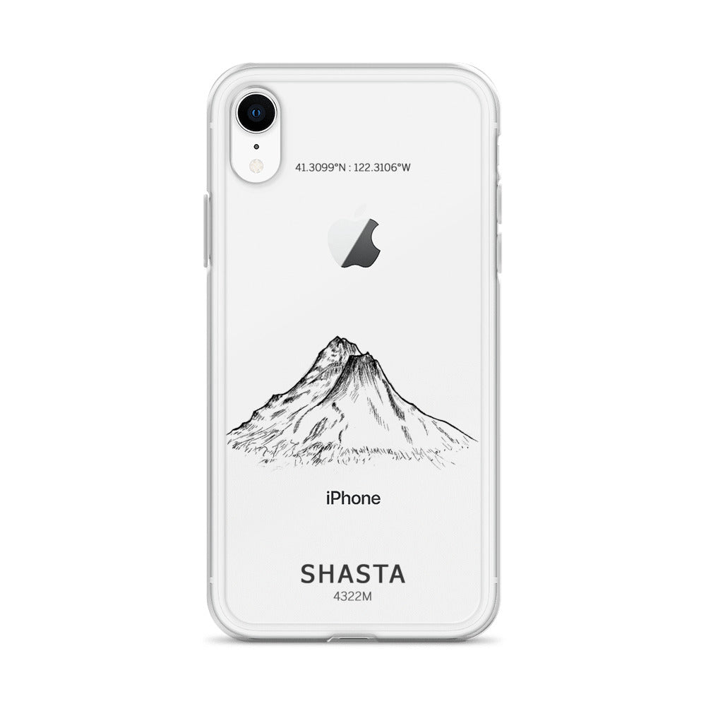 Mount Shasta iPhone Case