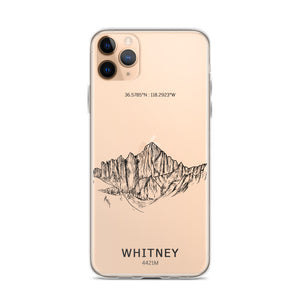 Mount Whitney iPhone Case