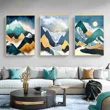 Load image into Gallery viewer, Mountain Sun Wall Art