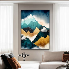 Load image into Gallery viewer, Mountain Sunrise Wall Art F