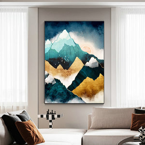 Mountain Sunrise Wall Art F