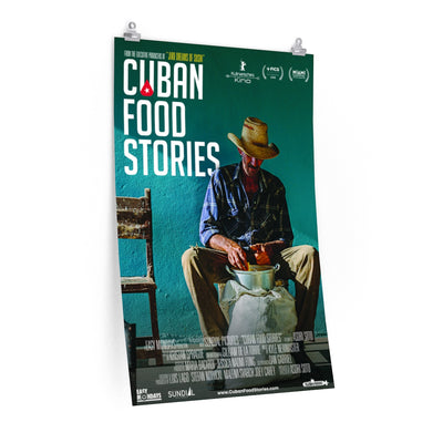 Cuban Food Stories - Poster