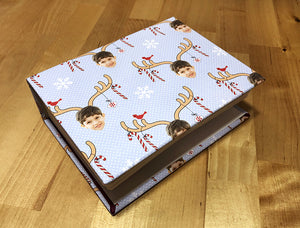 Custom photo album – 12 Crafts of Giftwrap