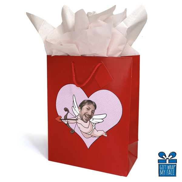 cupid custom gift bag