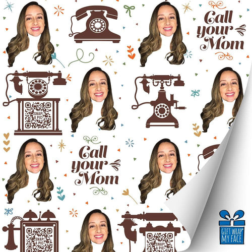 Call Your Mom Video Gift Wrap