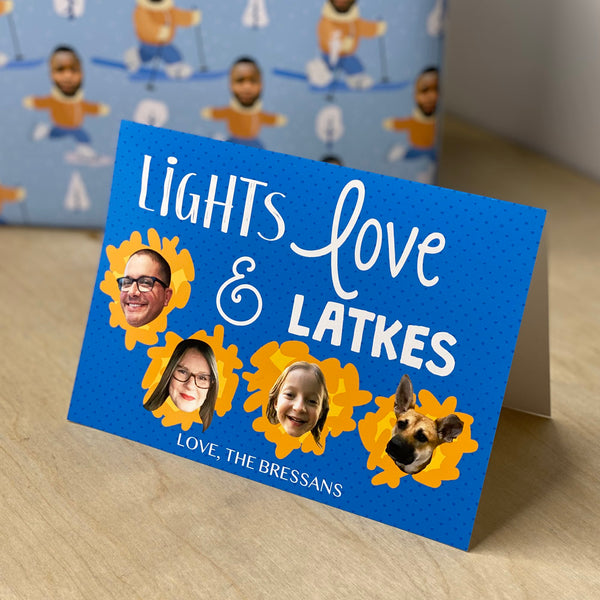 light, love & latkes™ holiday cards