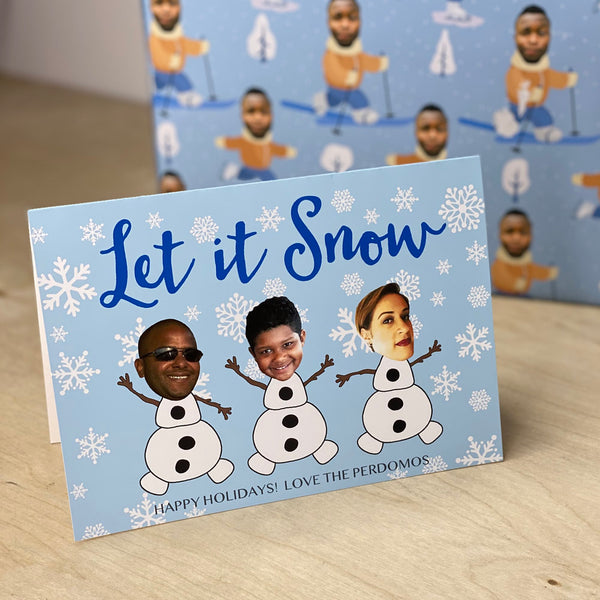 let it snow™ holiday cards