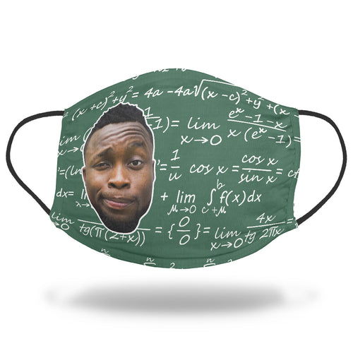 Math Lovers Face Mask