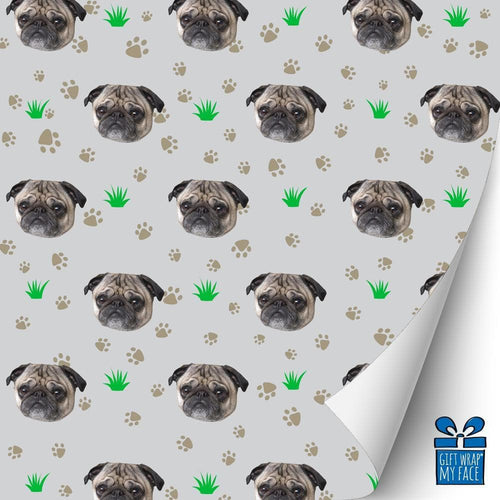 Dog Paws Gift Wrap