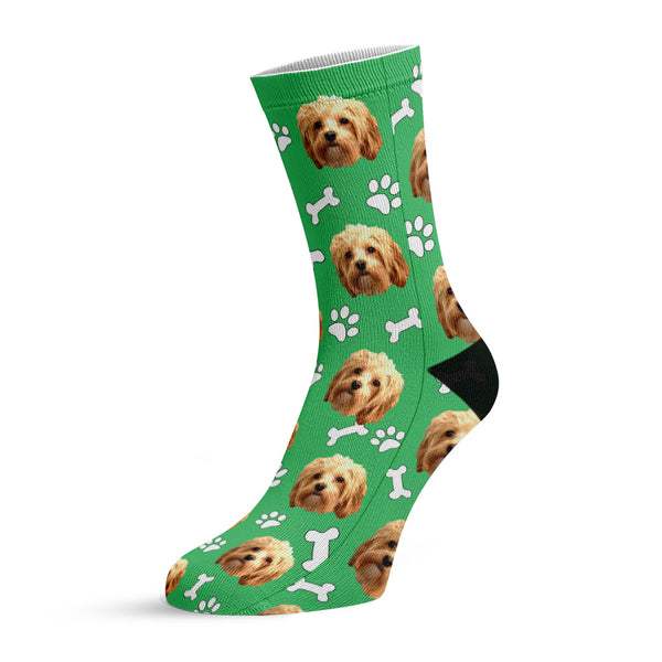 paw and bone™ custom face socks