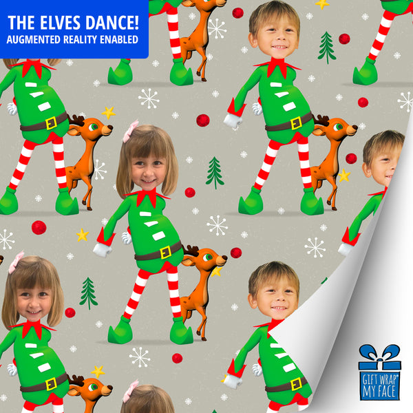 elfie dance™ smart gift wrap