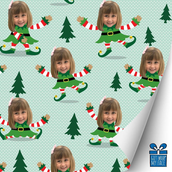 little miss elfie™ gift wrap