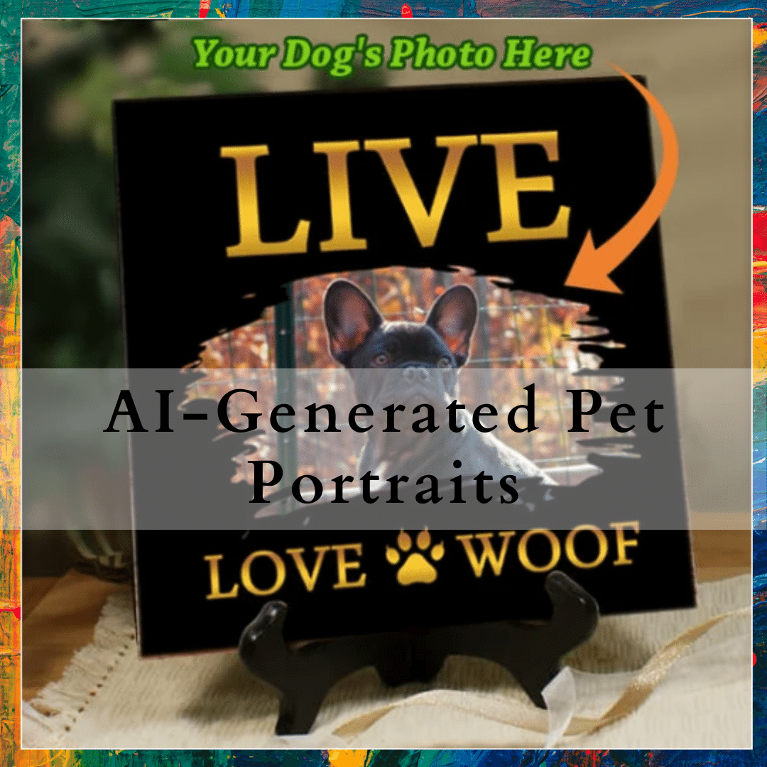 hand painted dog portrait cost