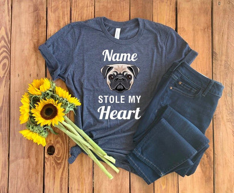 This Dog Stole My Heart T-Shirt
