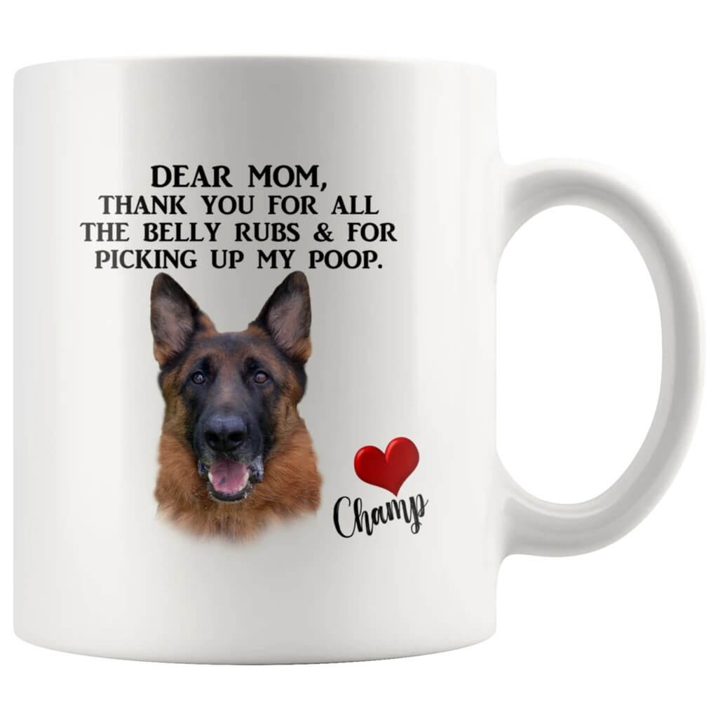Personalized Dog Mom Mug - Funny