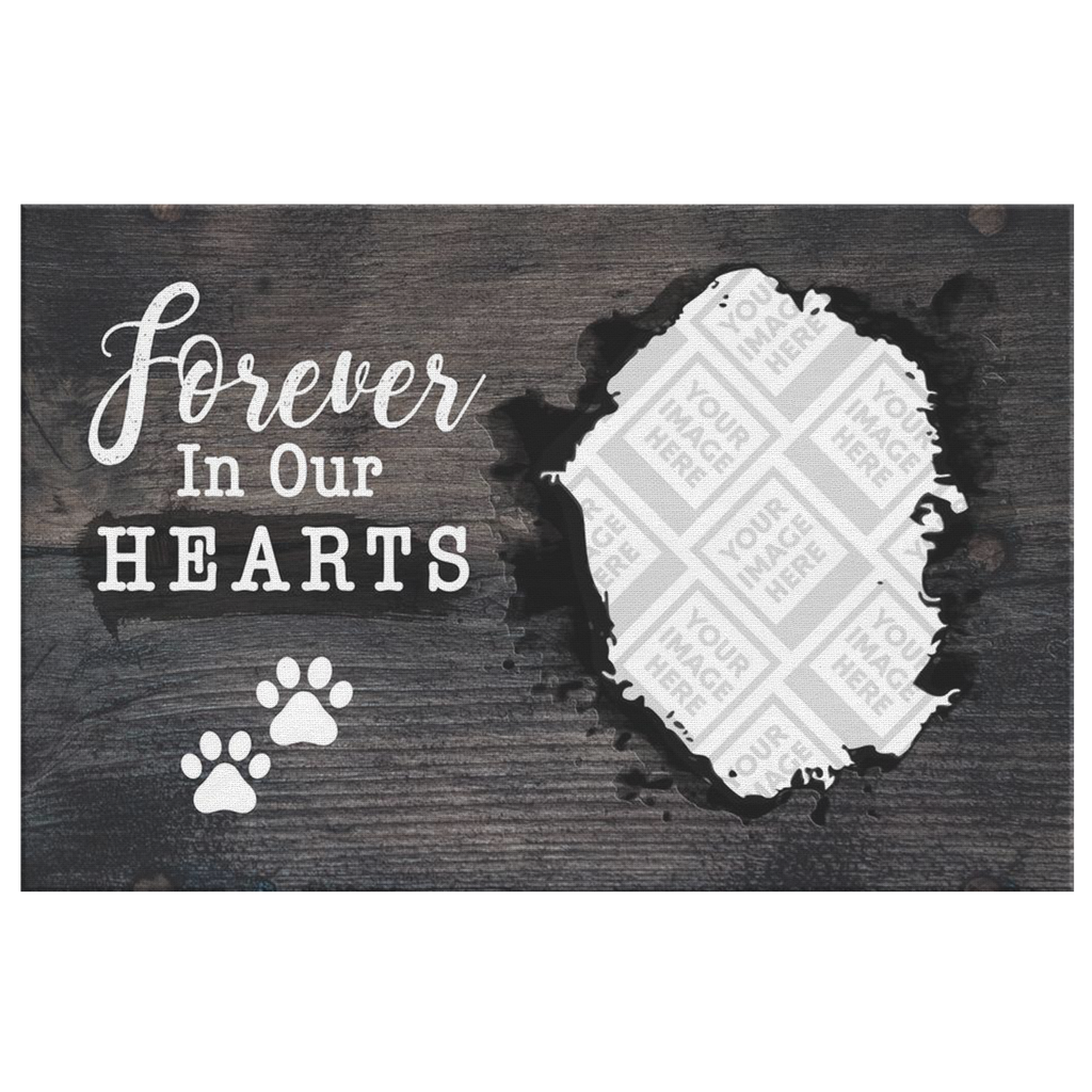 Forever In Our Hearts | Personalized Canvas