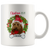 Christmas Wreath Custom Mug