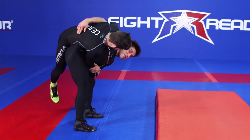 Hip Toss From Outside Sweep Single Leg With Henry Cejudo