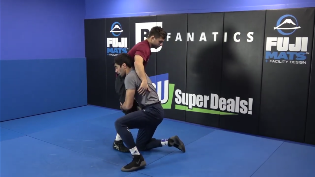Counter Double Leg by Bekzod Abdurakhminov
