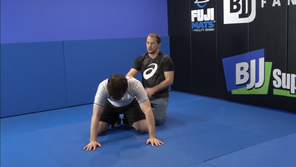 Securing An Arm Bar From Top Position With Logan Stieber