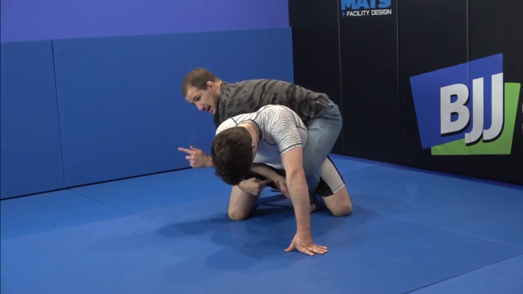 Thread the Needle Roll Through Tilt by Logan Stieber