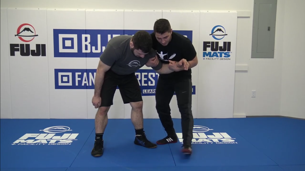 Hit the Inverted Fireman's Carry with Georgi Ivanov