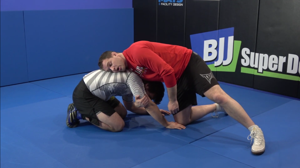 Hit the Front Headlock Cradle with Hudson Taylor