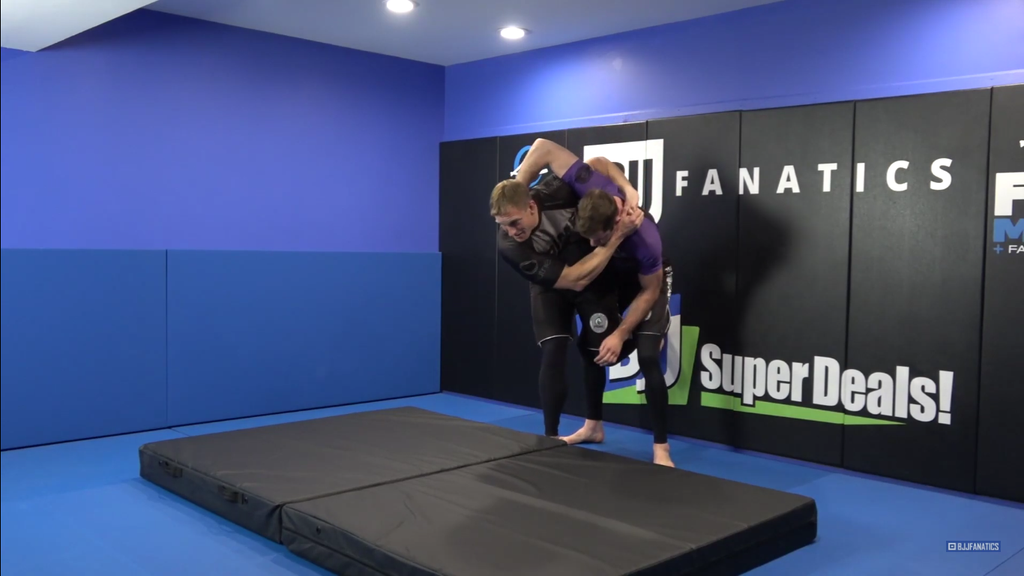 Hit the Pinch Headlock Hip Throw with Adam Wheeler
