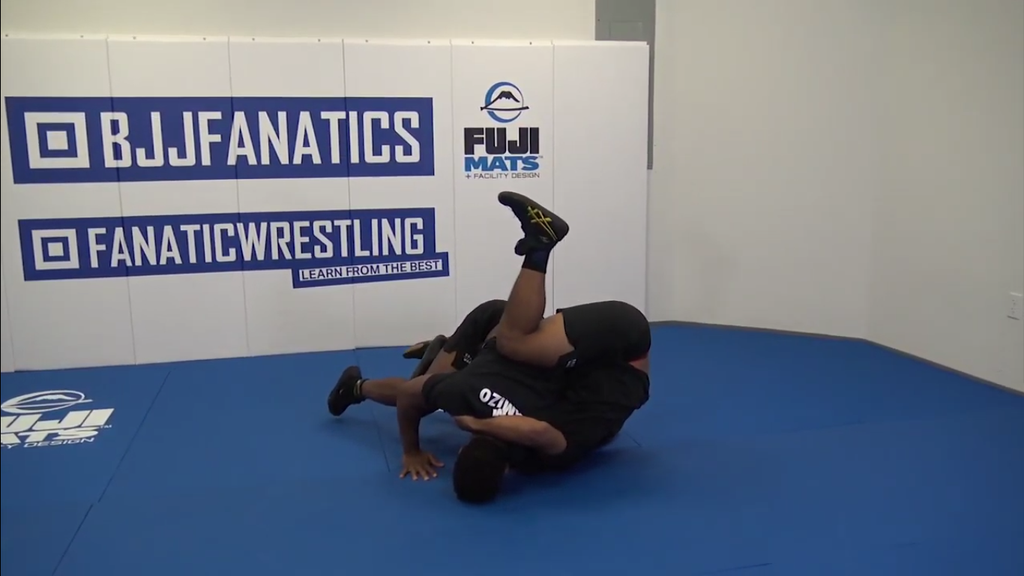 Dominate With the Ankle Pick Hip Toss by Frank Chamizo